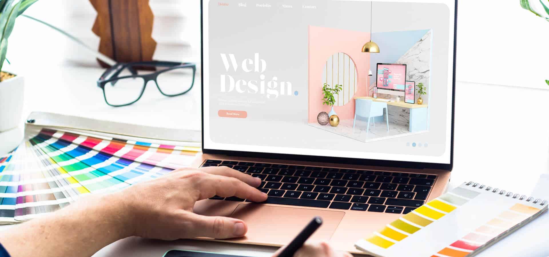 average cost website design