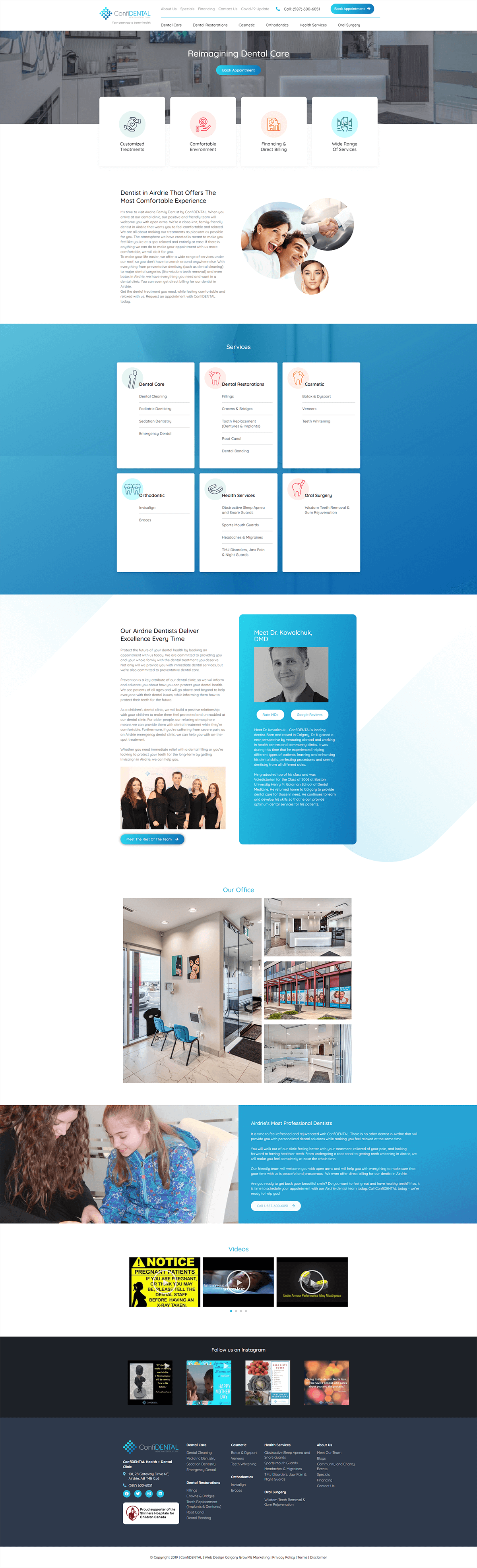 airdrie family dentist portfolio