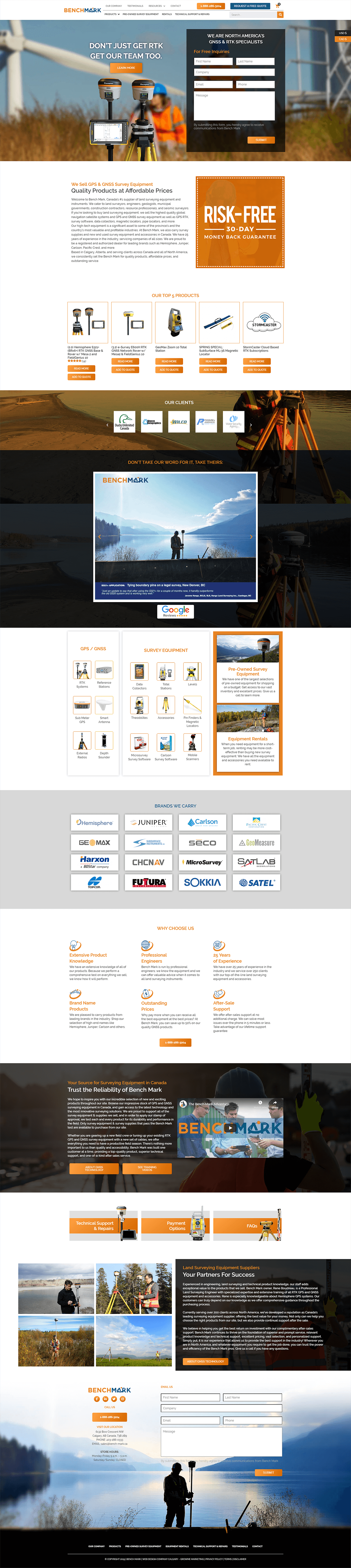 Benchmark Home Page
