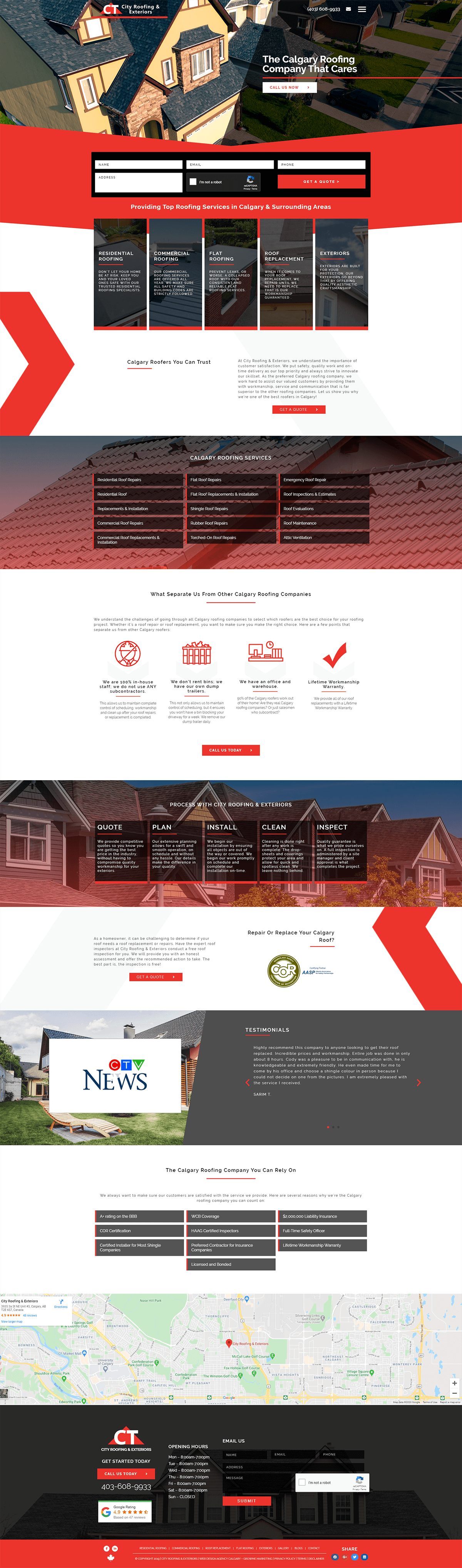 City Roofing Home Page