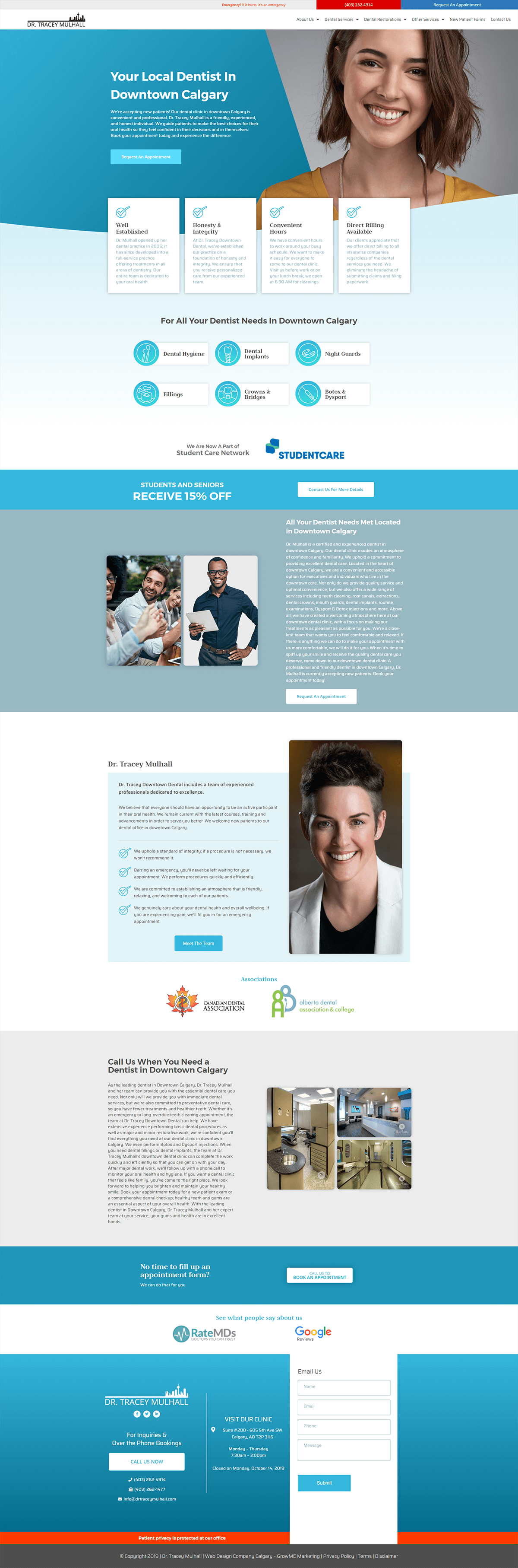 Dr Tracey Mulhall Home Page
