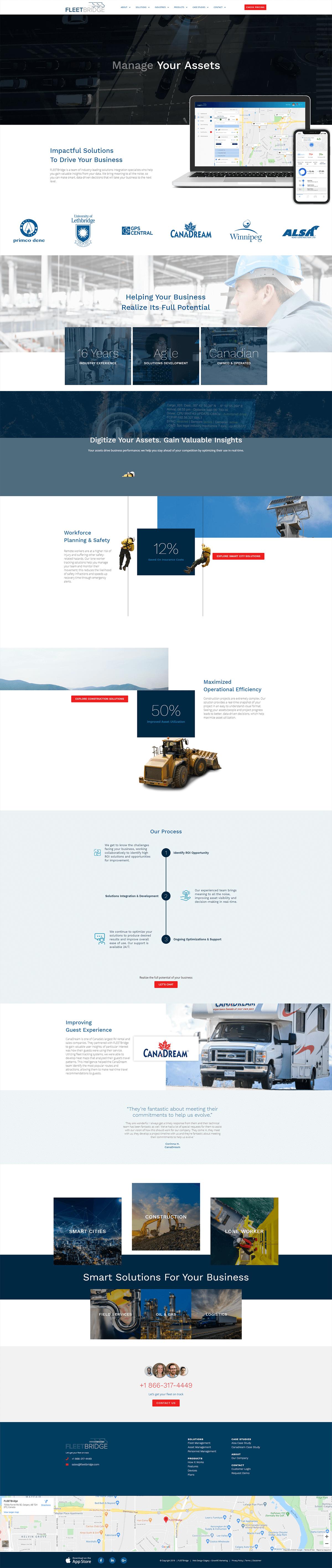 Fleetbridge Home Page