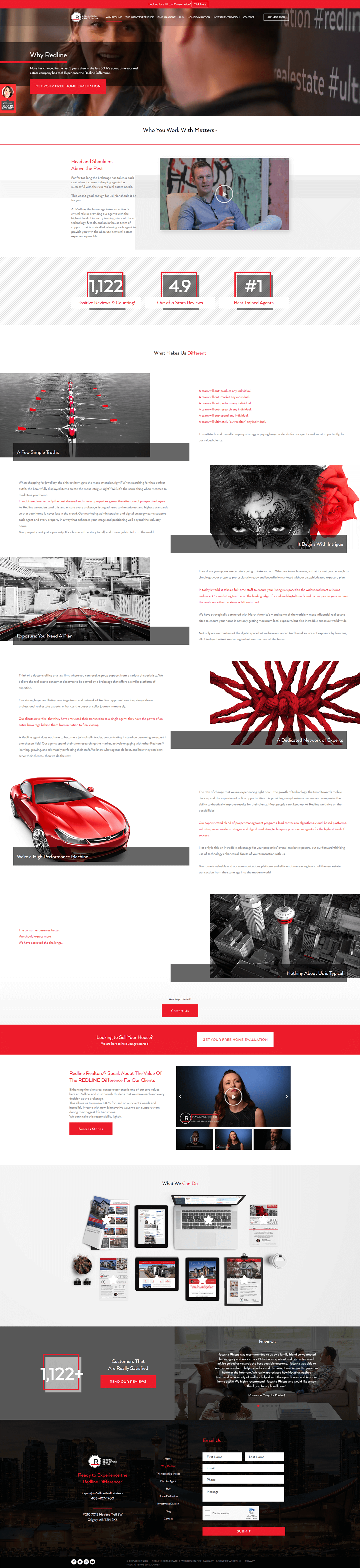 redline real estates about page