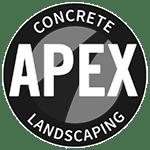 apex concrete logo