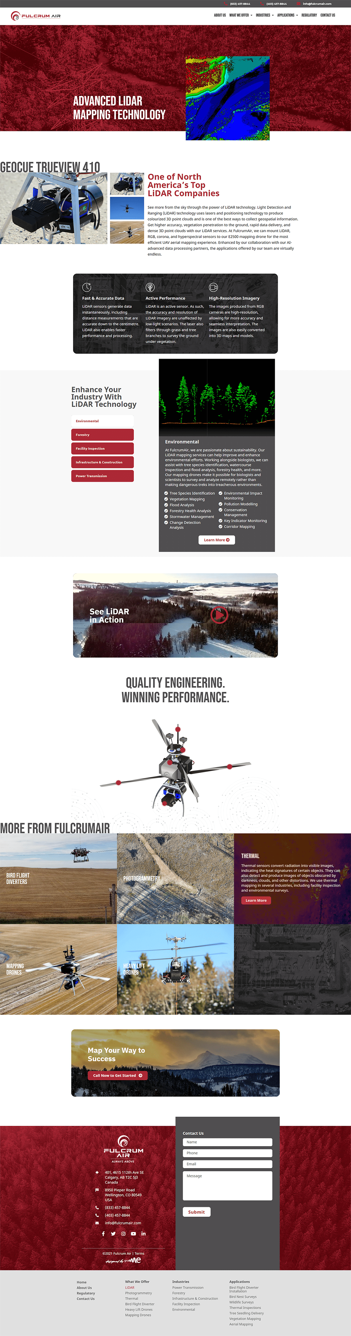 fulcrum air service