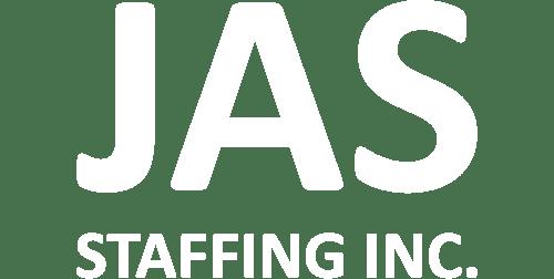 jas staffing white logo
