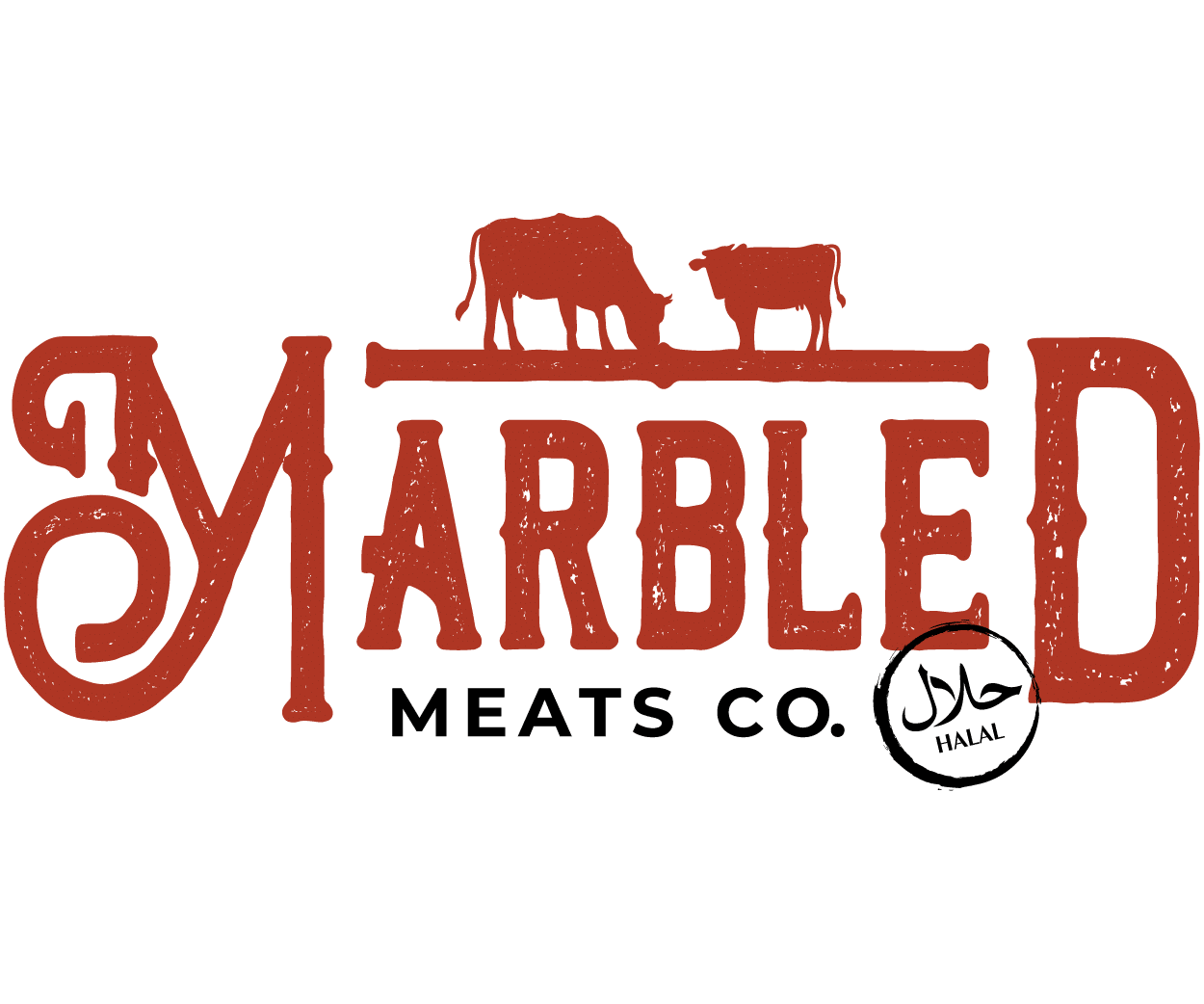 marbled meats co logo