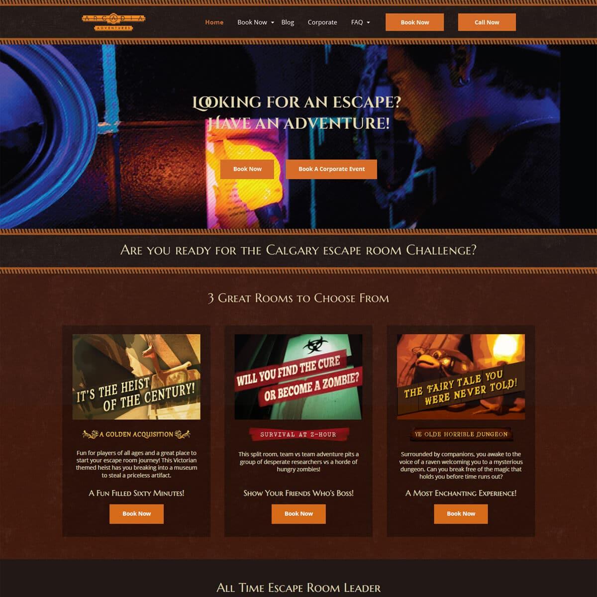 website-design-portfolio-before-arcadia-adventures