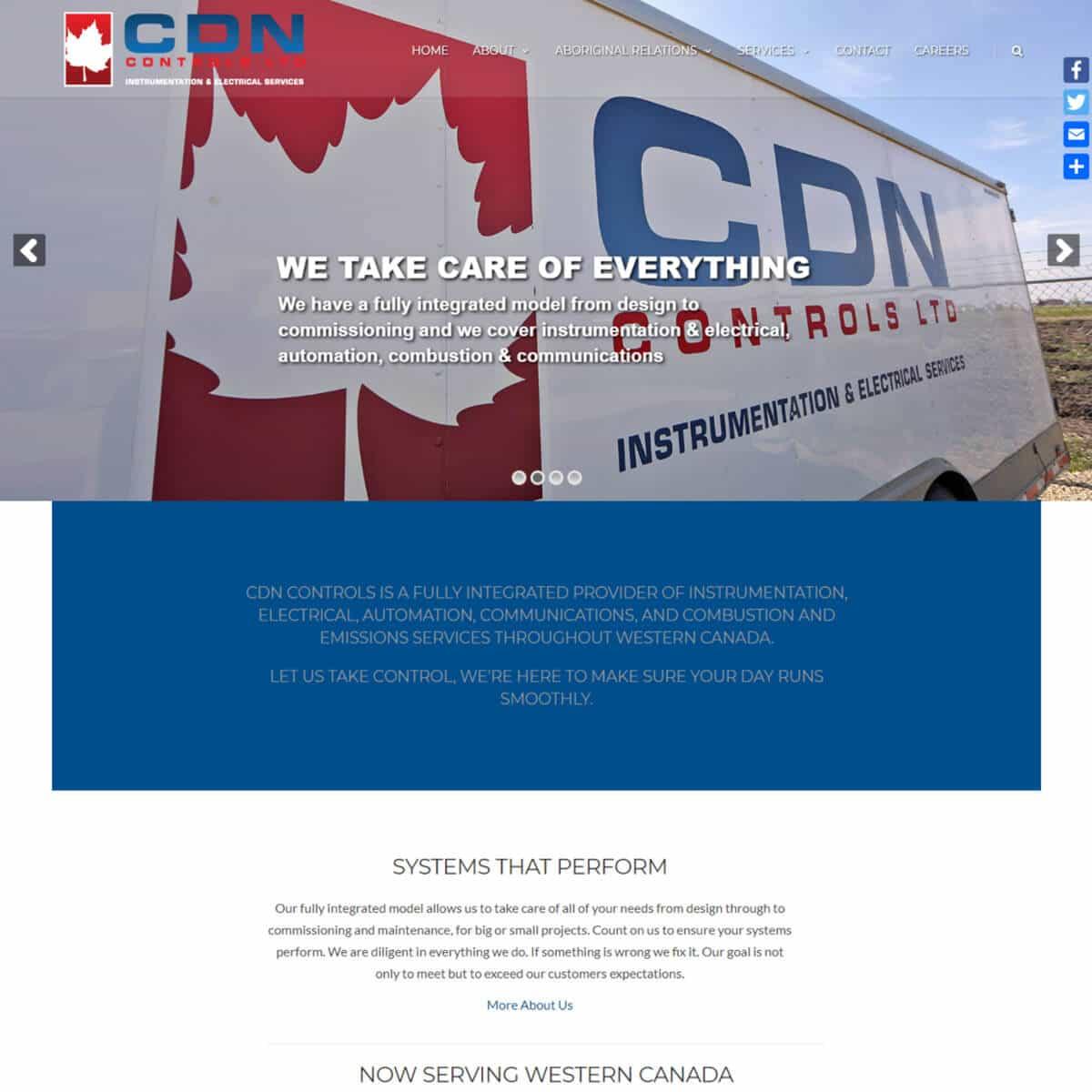 website-design-portfolio-before-cdn-controls
