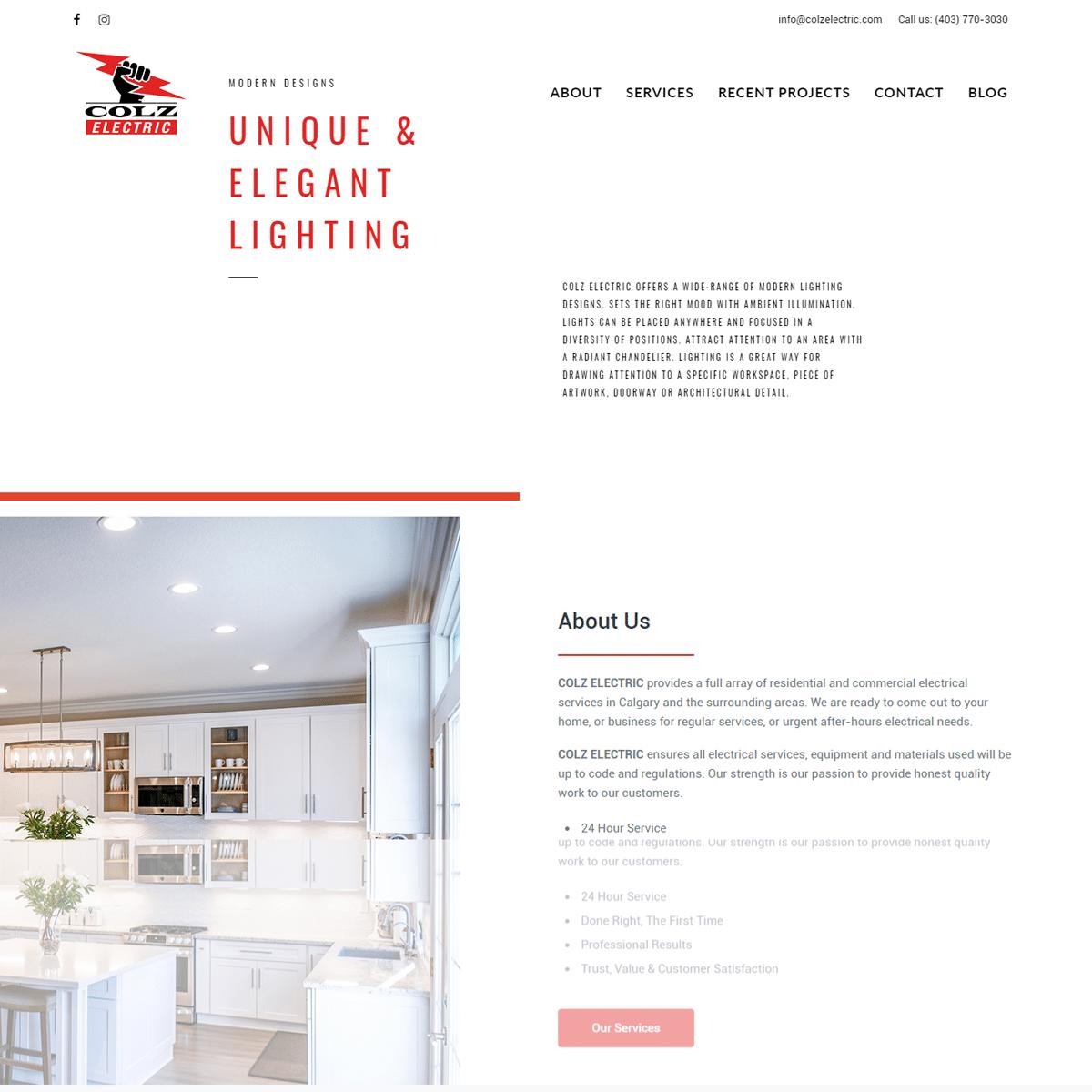 website-design-portfolio-before-colz-electric