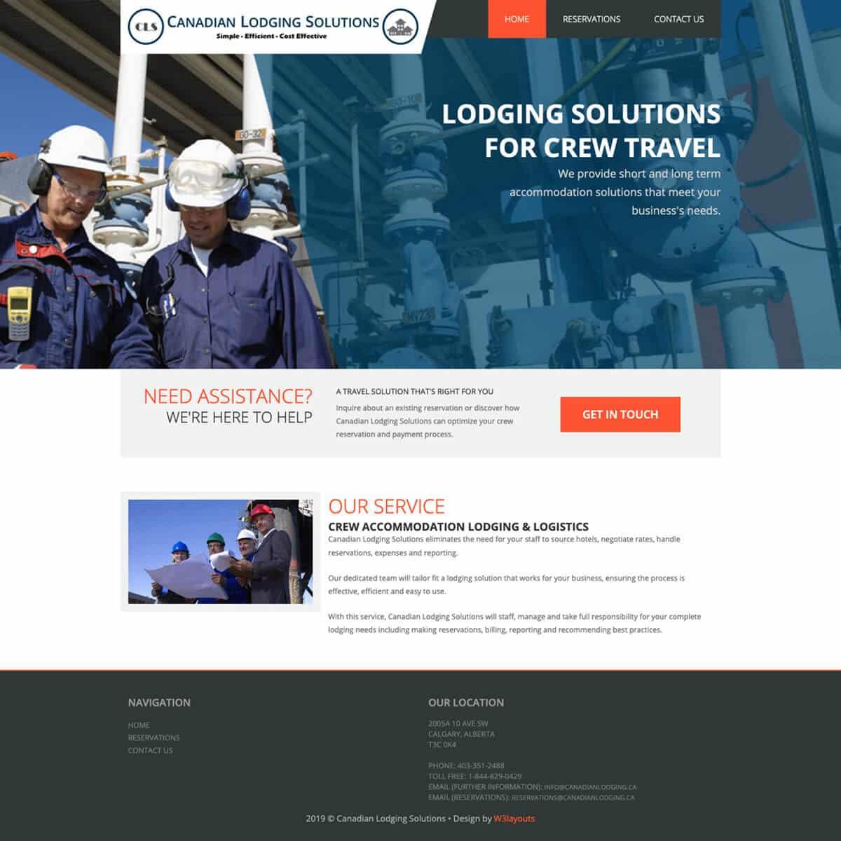 website-design-portfolio-before-frontier-lodging-solutions