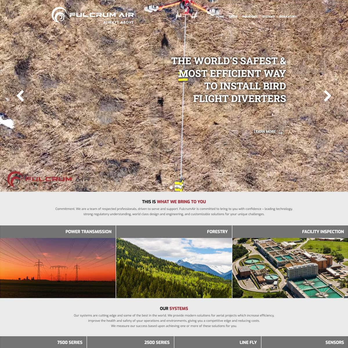 wwebsite-design-portfolio-before-fulcrum-air