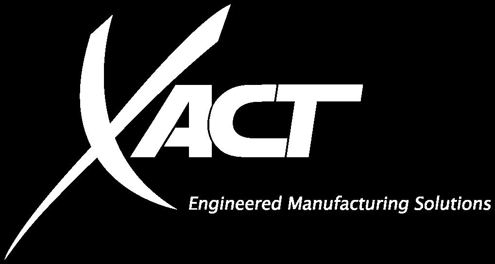 xact white logo