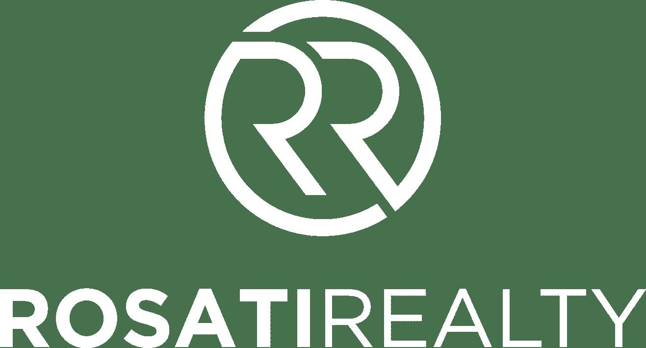 rosati realty white logo