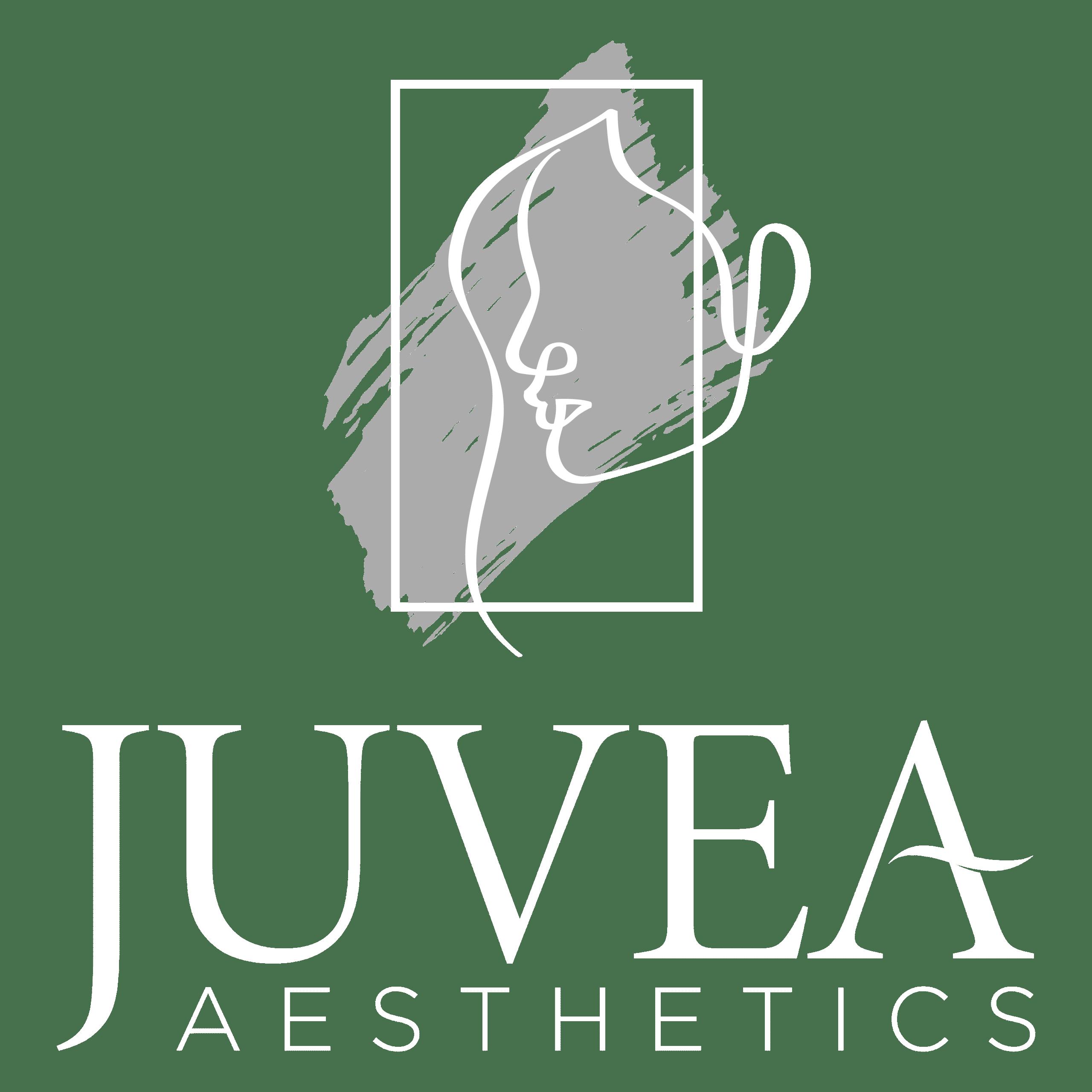 juvea aesthetics white logo