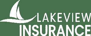 lakeview insurance white logo