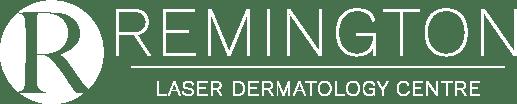 remington laser white logo