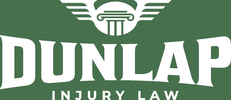 dunlap injury law white logo